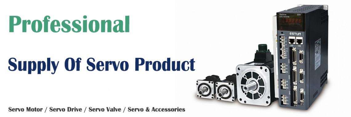 Servo Motor, Drive, Servo Valve, Servo Amplifier, VFD, PLC